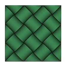 Diagonal Weave 09 Tile Coaster