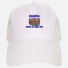 Narwhal Trapped In A Man's Body Baseball Baseball Cap