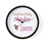 Fabulous Godmother Wall Clock