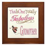 Fabulous Godmother Framed Tile