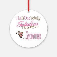 Fabulous Godmother Ornament (Round)