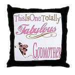 Fabulous Godmother Throw Pillow
