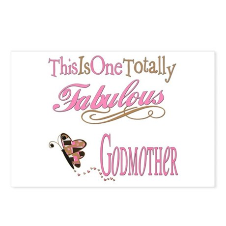 Fabulous Godmother Postcards (Package of 8)