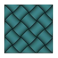 Diagonal Weave 12 Tile Coaster