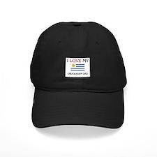I Love My Uruguayan Dad Baseball Hat