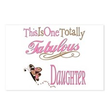Fabulous Daughter Postcards (Package of 8)