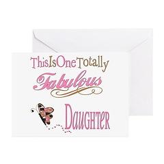 Fabulous Daughter Greeting Cards (Pk of 20)