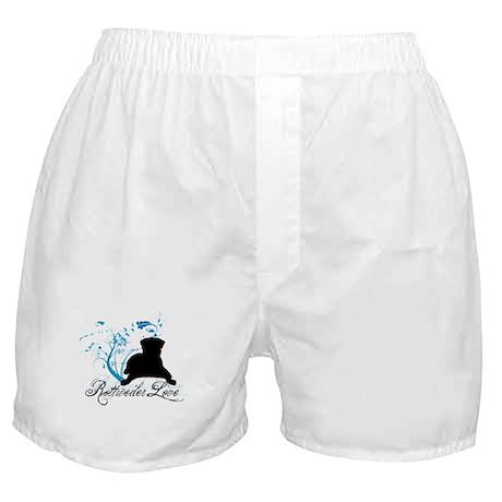 Rottweiler Love Boxer Shorts