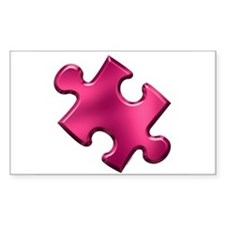 Puzzle Piece Ala Carte 1.2 (Fuchsia) Decal