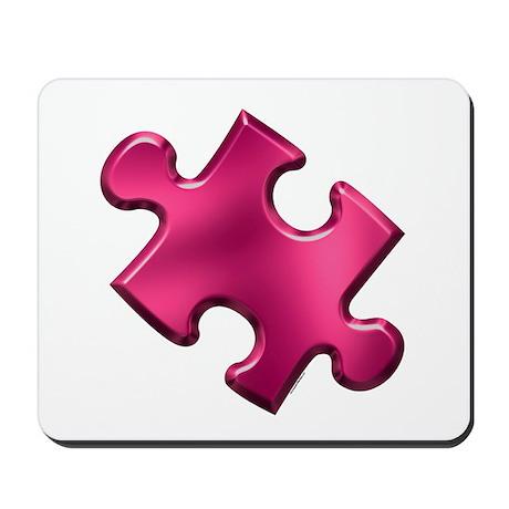 Puzzle Piece Ala Carte 1.2 (Fuchsia) Mousepad