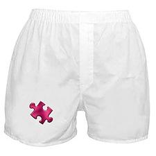Puzzle Piece Ala Carte 1.2 (Fuchsia) Boxer Shorts