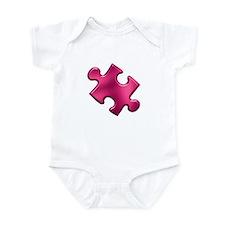 Puzzle Piece Ala Carte 1.2 (Fuchsia) Infant Bodysu