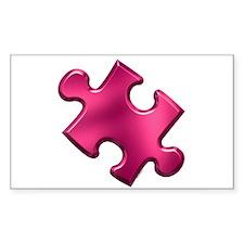 Puzzle Piece Ala Carte 1.2 (Fuchsia) Decal