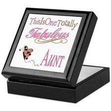 Fabulous Aunt Keepsake Box
