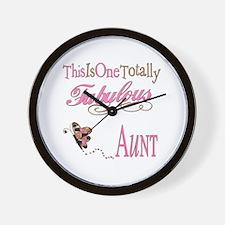 Fabulous Aunt Wall Clock
