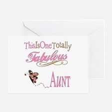 Fabulous Aunt Greeting Card