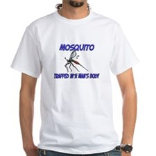 Mosquito Trapped In A Man's Body Shirt