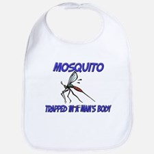 Mosquito Trapped In A Man's Body Bib