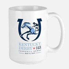 Official Kentucky Derby Logo 2017 Large Mug