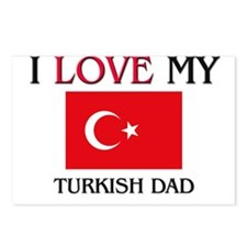 I Love My Turkish Dad Postcards (Package of 8)