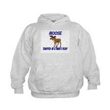 Moose Trapped In A Man's Body Hoodie