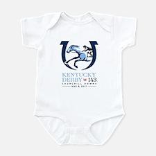 Official Kentucky Derby Logo 2017 Infant Bodysuit