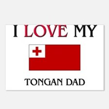 I Love My Tongan Dad Postcards (Package of 8)