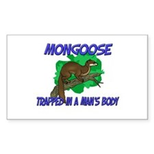 Mongoose Trapped In A Man's Body Decal