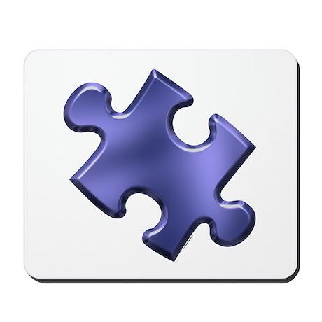 Puzzle Piece Ala Carte 1.4 (Blue) Mousepad