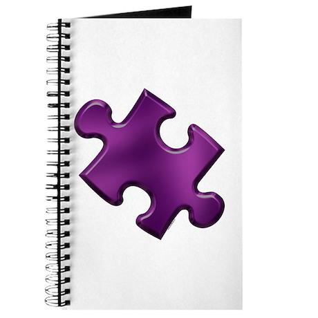 Puzzle Piece Ala Carte 1.6 (Purple) Journal
