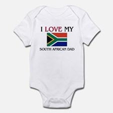 I Love My South African Dad Infant Bodysuit