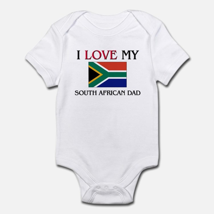 I Love My South African Dad Onesie
