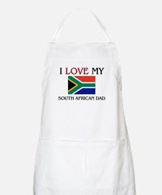 I Love My South African Dad BBQ Apron
