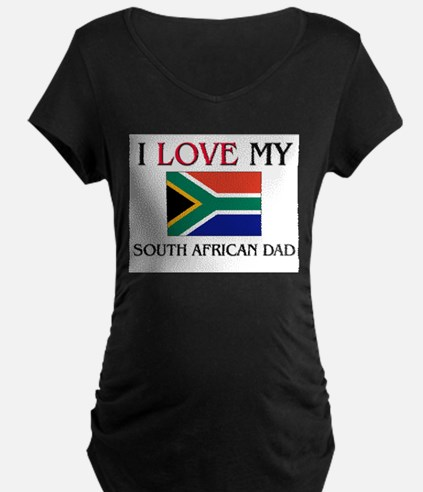I Love My South African Dad T-Shirt