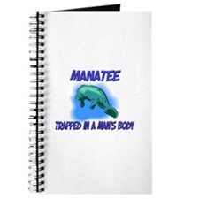 Manatee Trapped In A Man's Body Journal