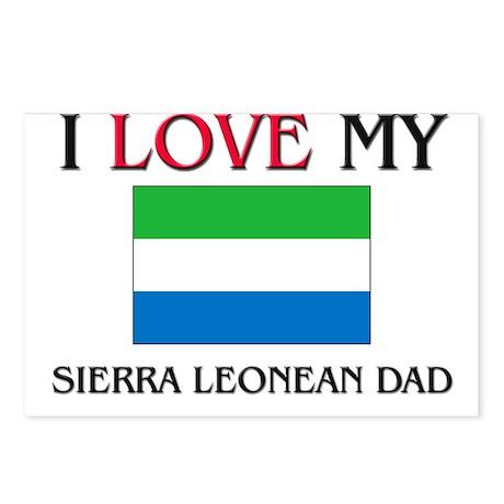 I Love My Sierra Leonean Dad Postcards (Package of