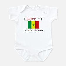 I Love My Senegalese Dad Infant Bodysuit