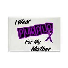 I Wear Purple 8 (Mother) Rectangle Magnet