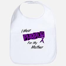 I Wear Purple 8 (Mother) Bib