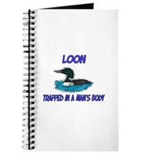 Loon Trapped In A Man's Body Journal