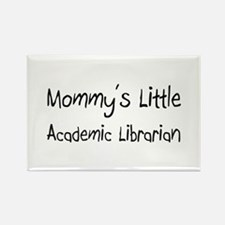 Mommy's Little Academic Librarian Rectangle Magnet