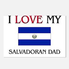 I Love My Salvadoran Dad Postcards (Package of 8)