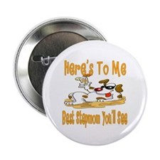 """Cheers For Stepmom 2.25"""" Button (10 pack)"""