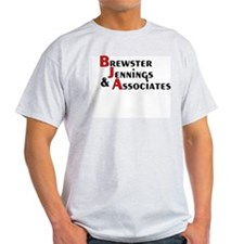 Brewster Jennings & AssoCIAtes Ash Grey T-Shirt