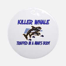 Killer Whale Trapped In A Man's Body Ornament (Rou