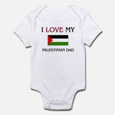I Love My Palestinian Dad Infant Bodysuit