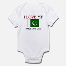 I Love My Pakistani Dad Infant Bodysuit