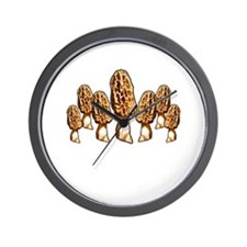 spring morel round up Wall Clock