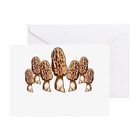 spring morel round up Greeting Cards (Pk of 10)