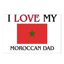 I Love My Moroccan Dad Postcards (Package of 8)